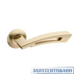 Ручки раздельные Apecs H-0599-A GM/G(матовое золото/золото)