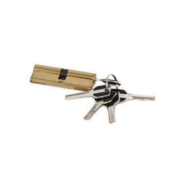 Цилиндровый механизм MSM-100мм (50-50) ключ-ключ латунь