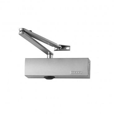 Дверной доводчик GEZE TS 1500 серебро (в комплекте с тягой)