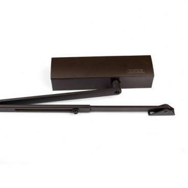 Дверной доводчик GEZE TS 1500 коричневый (в комплекте с тягой)
