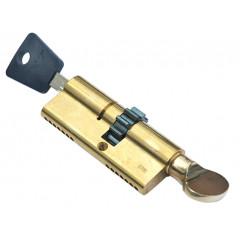 Цилиндровый механизм Mul-T-Lock 7x7, L71 (33Т-38) с шестеренкой, ключ-вертушка
