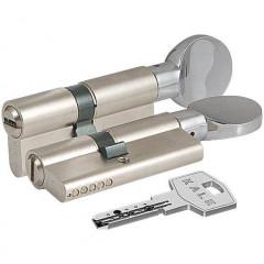 Цилиндровый механизм с вертушкой Kale 164 BM/80 (35-45) mm никель