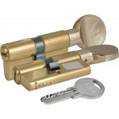 Цилиндровый механизм с вертушкой Kale 164 SM/62 (31-31) mm латунь 5 ключей