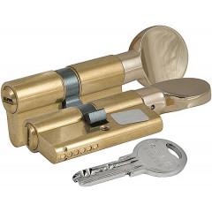Цилиндровый механизм с вертушкой Kale 164 SM/68 (31-37) mm латунь 5 ключей