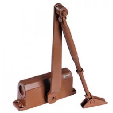 Доводчик дверной Нора-М 3S-F морозостойкий 50-80 кг (коричневый)