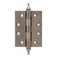 Петля универсальная Castillo CL 500-A4 102x76x3,5 AS Античное серебро