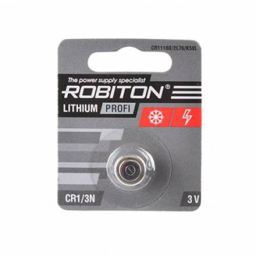Батарейка CR1/3N ROBITON (CR11108, Dl1/3N, 2L76) 3В