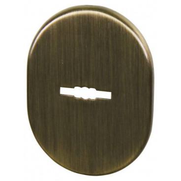 Декоративная накладка ESC 475 AB БРОНЗА на сувальдный замок