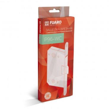 Защелка врезная Fuaro (Фуаро) PLASTIC P96WC-50 BL-24 черный