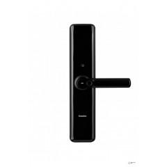 Врезной электронный дверной замок Kaadas S8 Black с отпечатком пальца