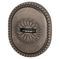 Декоративная накладка на сувальдный замок PS-DEC CL (ATC Protector 1) AS-9 Античное серебро