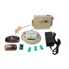 Комплект для монтажа электромеханического замка (контактные ключи)