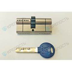 Цилиндровый механизм RB MARS-76мм (33x43) ключ-ключ с шестеренкой (5кл.)