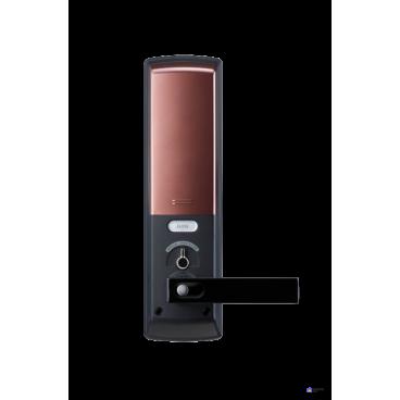 Электронный дверной замок Samsung SHP-DH538 Copper с отпечатком пальца
