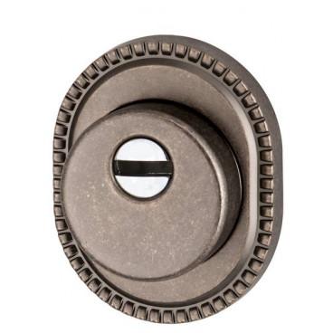 Броненакладка на цилиндр Armadillo ET/ATC-Protector 1CL-25 AS-9 Античное серебро