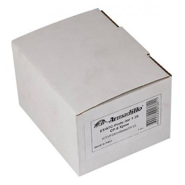 Броненакладка на цилиндр Armadillo ET/ATC-Protector 1-25(SQ) SC-14 Матовый хром