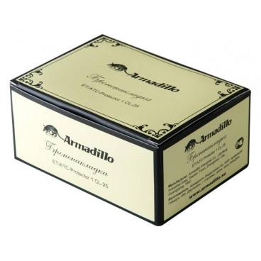 Броненакладка на цилиндр Armadillo ET/ATC-Protector 1CL-25 СР Хром