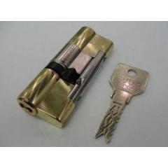 Цилиндровый механизм EVVA 3KS (36+46) кл/кл латунь