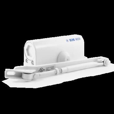 Доводчик Нора-М 520 ЕСО (25-70 кг) - белый - морозостойкий