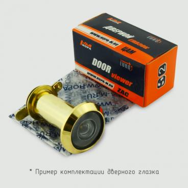 Глазок дверной латунь Нора-М №22ПП/14/180/50-75 со шт. (золото)