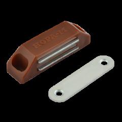 Защёлка магнитная Нора-М №2 (58мм) (коричневая)