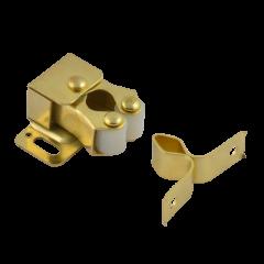 Защёлка роликовая Нора-М №2 (24мм) (золото)