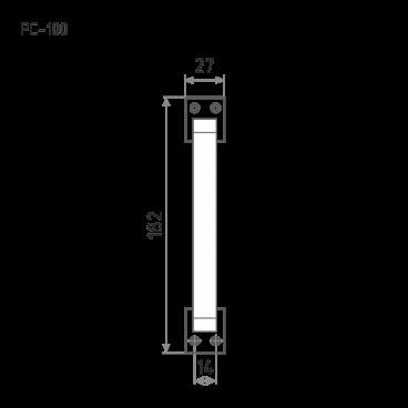 Нора-М РС-100 (хром)
