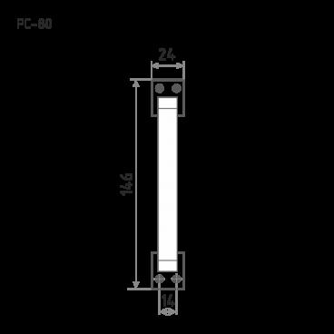 Нора-М РС-80 (хром)