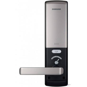 Замок дверной Samsung SHS-H705 FBK/EN (5230) черный, биометрический