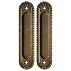 Ручка для раздвижных дверей SH010/CL OB-13 Античная бронза