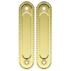 Ручка для раздвижных дверей SH010/CL GOLD-24 Золото 24К