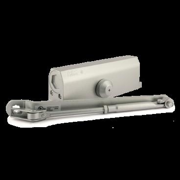 Доводчик дверной Нора-М 5S морозостойкий 160 кг (серебро)