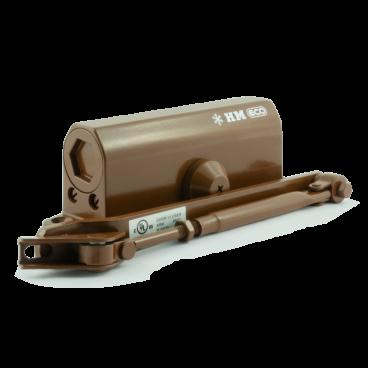 Доводчик Нора-М 520 ЕСО (25-70 кг) - коричневый - морозостойкий