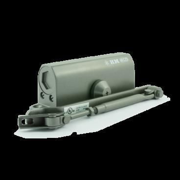 Доводчик Нора-М 530 ЕСО (50-90 кг) - бронза - морозостойкий