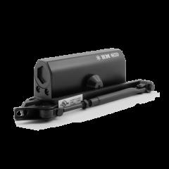 Доводчик Нора-М 530 ЕСО (50-90 кг) - чёрный - морозостойкий