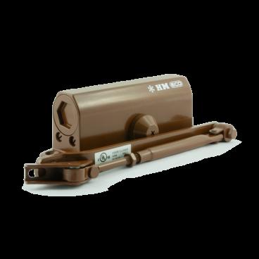 Доводчик Нора-М 530 ЕСО (50-90 кг) - коричневый - морозостойкий