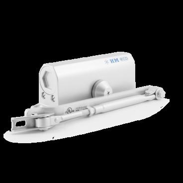 Доводчик Нора-М 530 ЕСО (50-90 кг) - серебро - морозостойкий