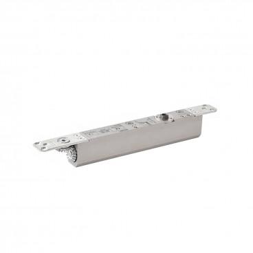 Дверной доводчик скрытый GEZE Boxer EN 2-4 серебро (в комплекте с тягой)