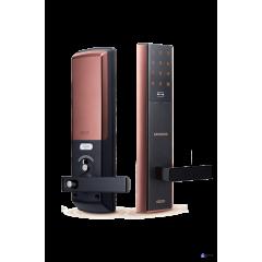 Врезной электронный дверной замок Samsung SHP-DH537 Copper