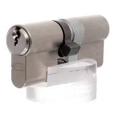 Цилиндр EVVA EPS кл/кл 107 мм (31+76) хром