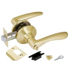 Ручка защелка 6020 SB-B (фик.) мат. золото
