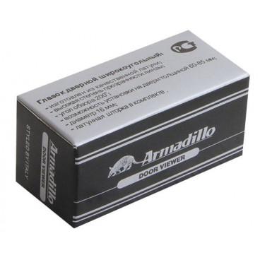 Глазок дверной Armadillo пластиковая оптика DV2, 16/55х85 GP Золото