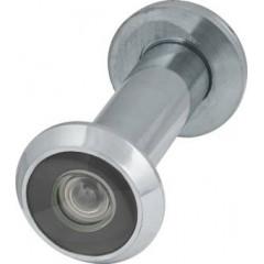 Глазок дверной Armadillo, пластиковая оптика DV2, 16/55х85 CP Хром