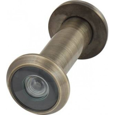 Глазок дверной Armadillo, пластиковая оптика DV2, 16/55х85 AB Бронза