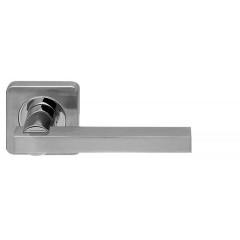Ручка раздельная ORBIS SQ004-21SN/CP-3 матовый никель/хром