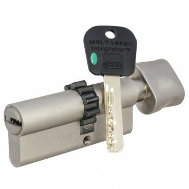 Механизм цилиндровый Mul-T-Lock Integrator (33*43В) кл/верт никель шестеренка