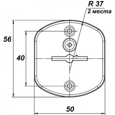 Накладка  ЗВ8 02.040 нитрид титана