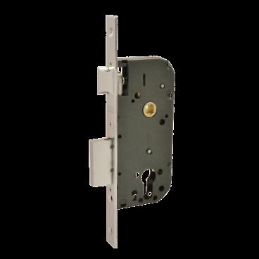 Защелка межкомнатная Нора-М КЗВ-100 (70мм) (хром)