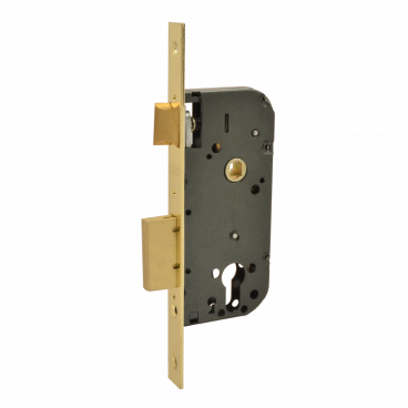 Защелка межкомнатная Нора-М КЗВ-100 (70мм) (латунь)