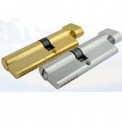 Цилиндровый механизм Нора-М ECO AL ЛПВ-90 (45-45) хром